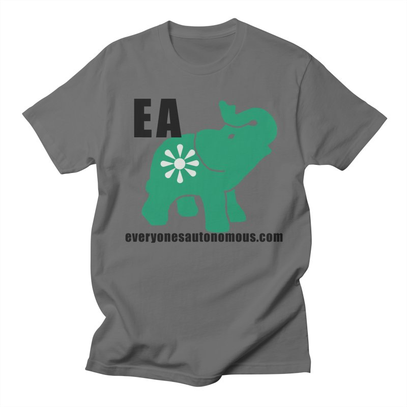 Elephant EA www Men's T-Shirt by Everyone's Autonomous' Artist Shop