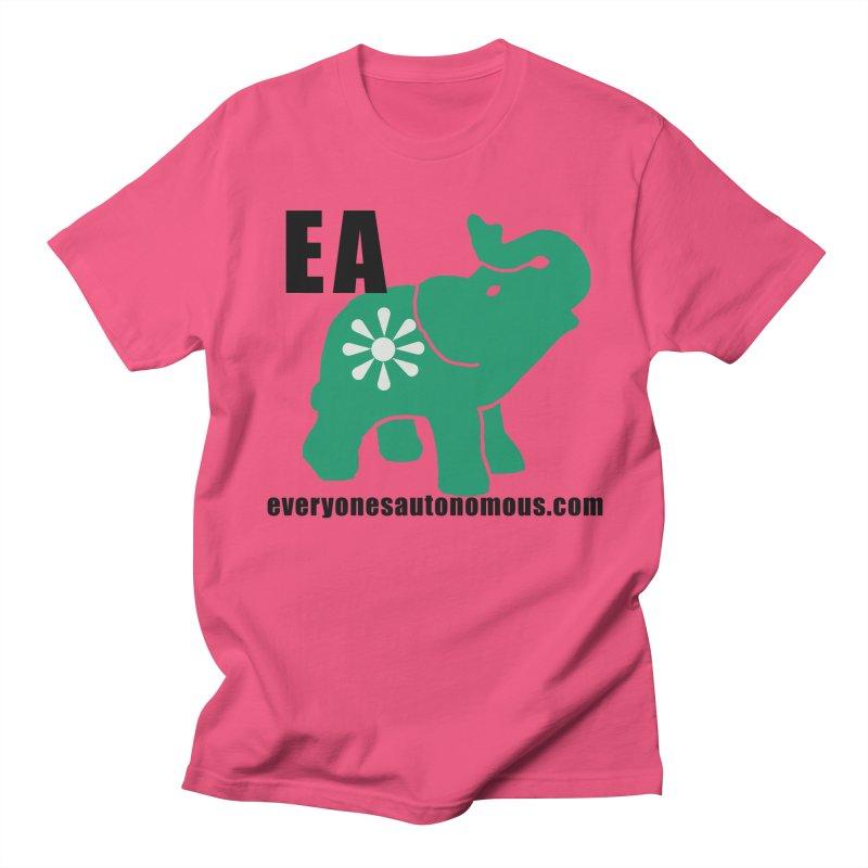Elephant EA www Men's Regular T-Shirt by everyonesautonomous's Artist Shop