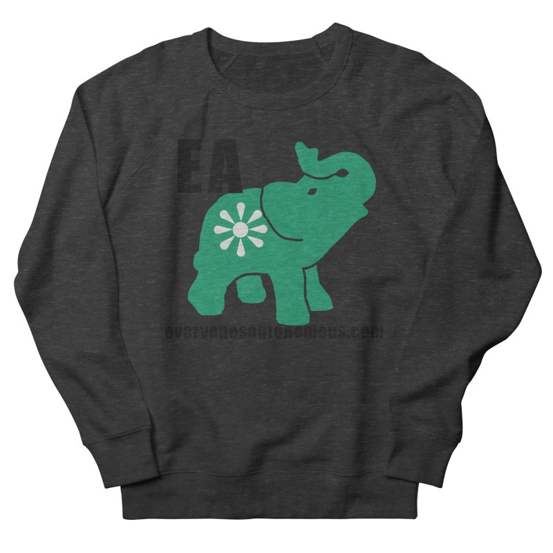 Elephant EA www Women's Sweatshirt by Everyone's Autonomous' Artist Shop