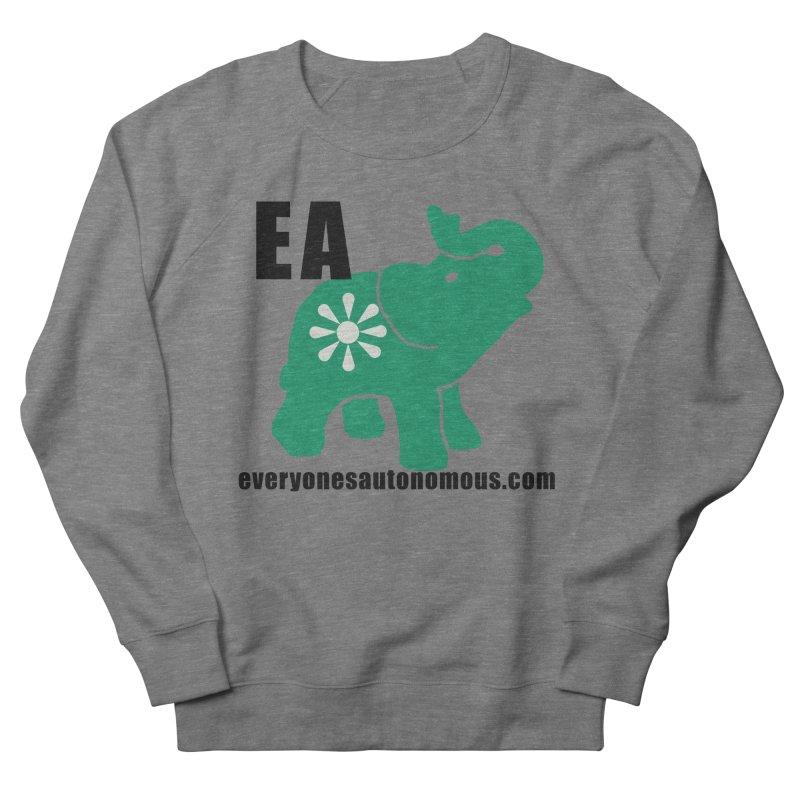 Elephant EA www Women's French Terry Sweatshirt by everyonesautonomous's Artist Shop