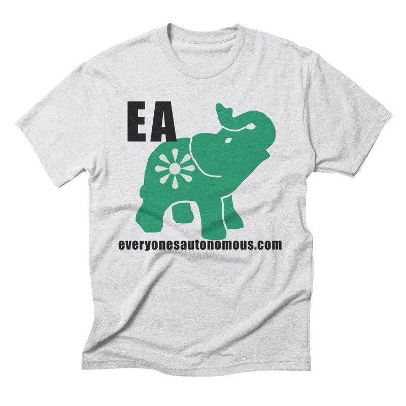Elephant EA www Men's Triblend T-Shirt by everyonesautonomous's Artist Shop
