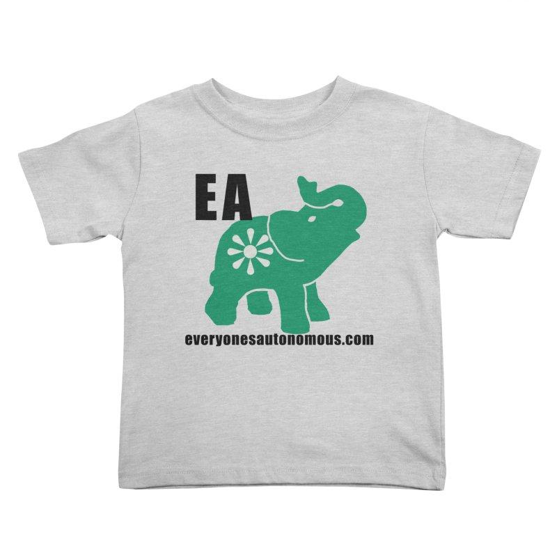 Elephant EA www Kids Toddler T-Shirt by everyonesautonomous's Artist Shop