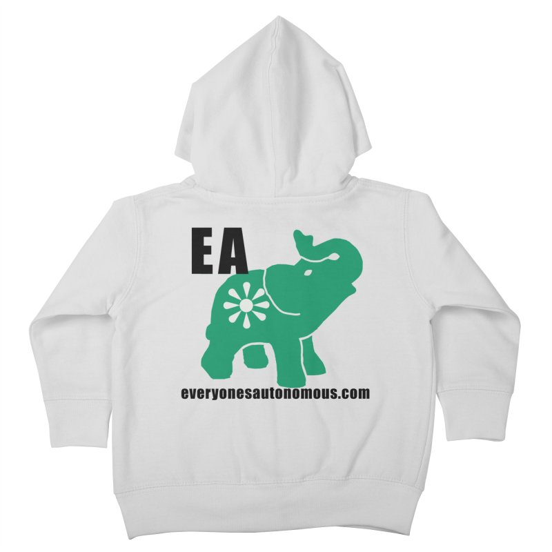 Elephant EA www Kids Toddler Zip-Up Hoody by everyonesautonomous's Artist Shop