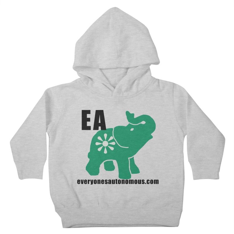 Elephant EA www Kids Toddler Pullover Hoody by everyonesautonomous's Artist Shop