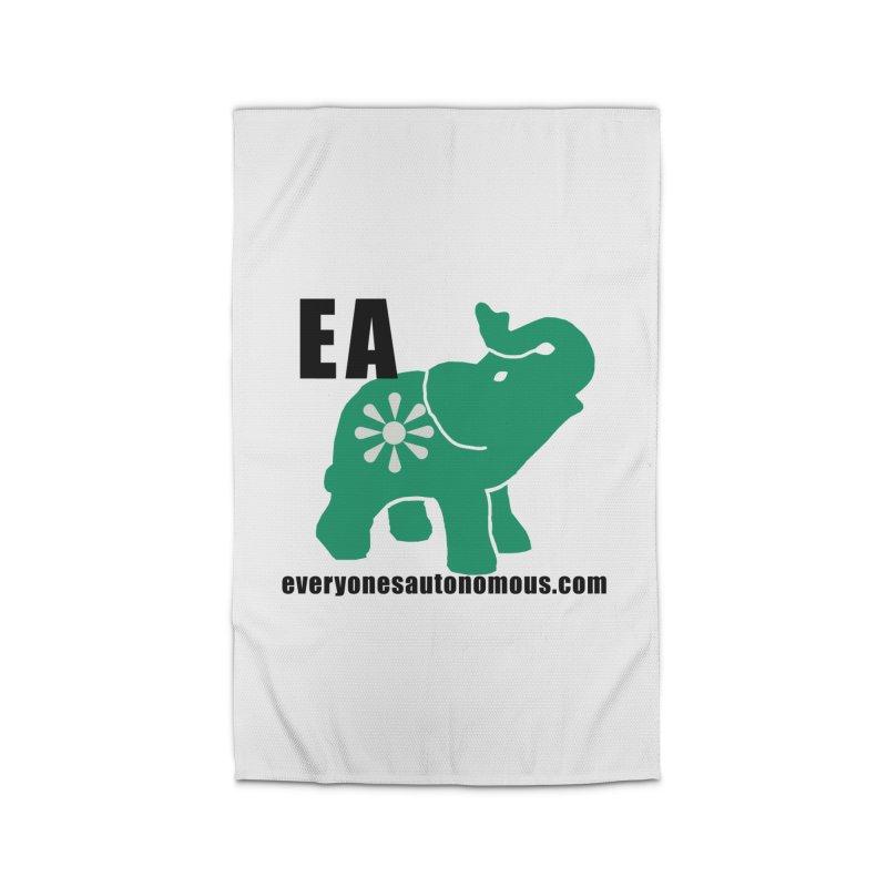 Elephant EA www Home Rug by everyonesautonomous's Artist Shop