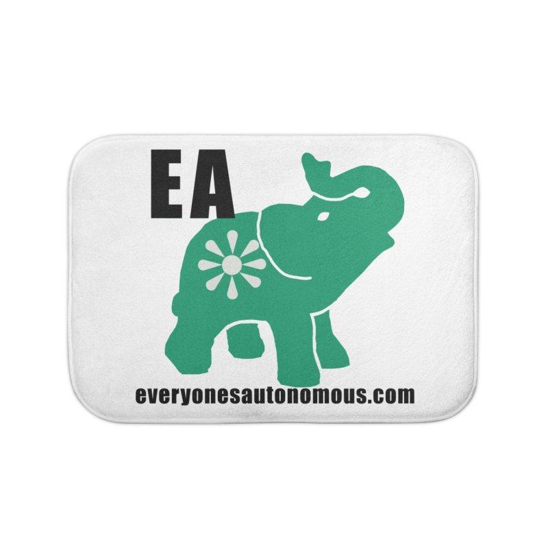 Elephant EA www Home Bath Mat by everyonesautonomous's Artist Shop