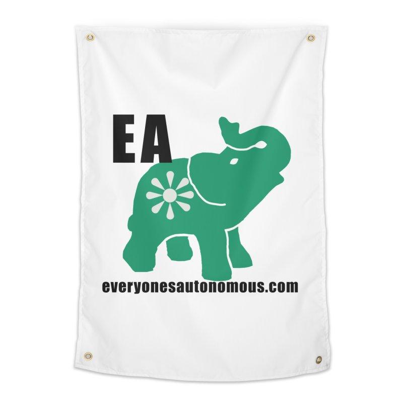 Elephant EA www Home Tapestry by Everyone's Autonomous' Artist Shop