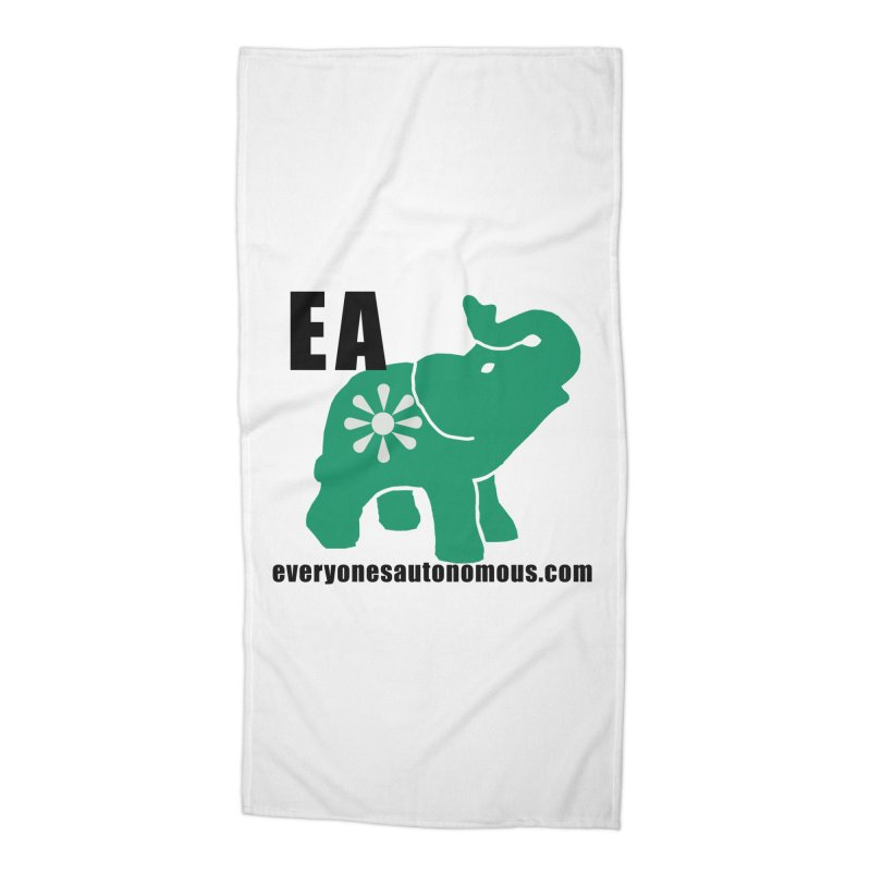 Elephant EA www Accessories Beach Towel by everyonesautonomous's Artist Shop
