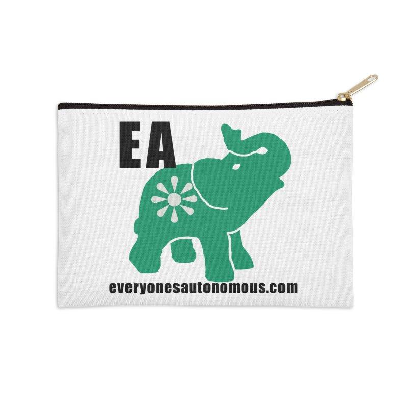 Elephant EA www Accessories Zip Pouch by Everyone's Autonomous' Artist Shop