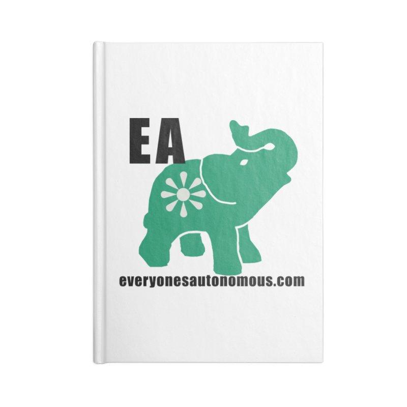Elephant EA www Accessories Notebook by Everyone's Autonomous' Artist Shop