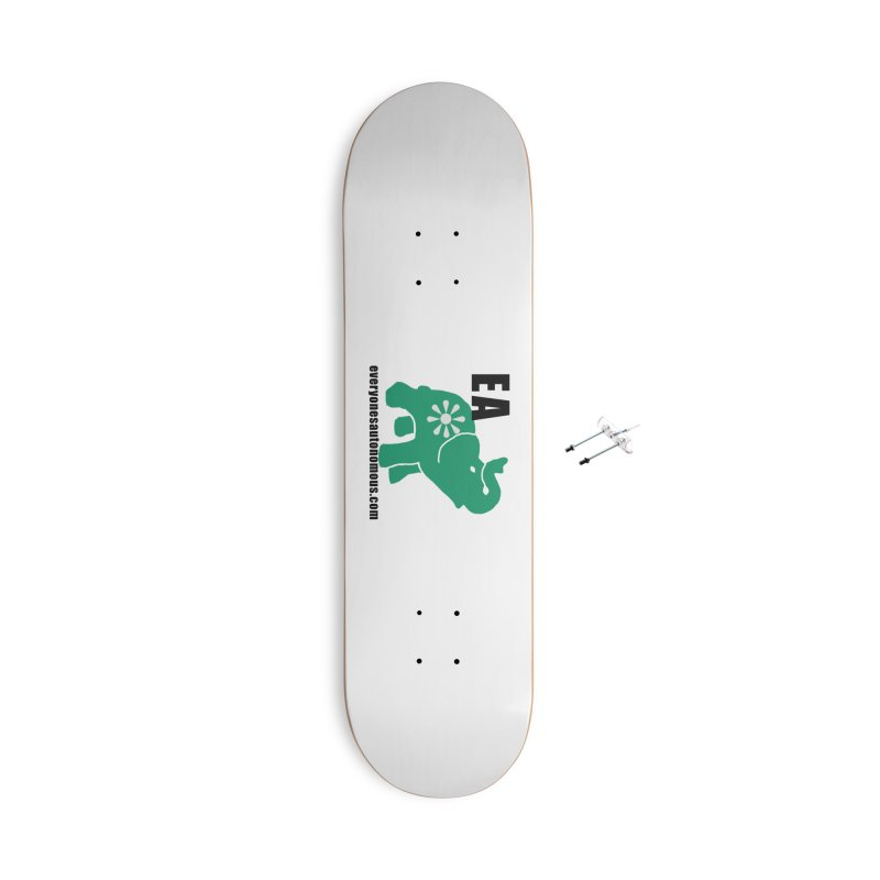 Elephant EA www Accessories With Hanging Hardware Skateboard by everyonesautonomous's Artist Shop