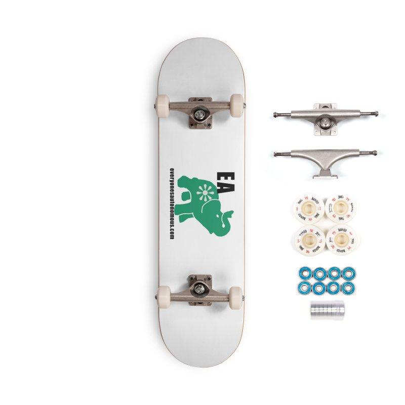 Elephant EA www Accessories Complete - Premium Skateboard by everyonesautonomous's Artist Shop