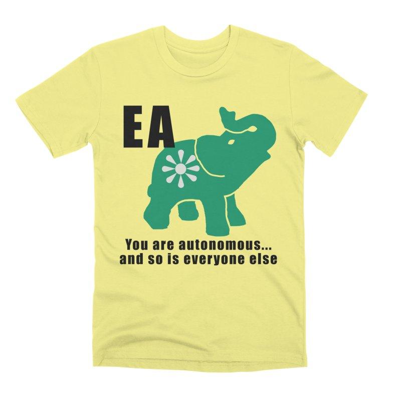 You Are Autonomous Men's Premium T-Shirt by everyonesautonomous's Artist Shop