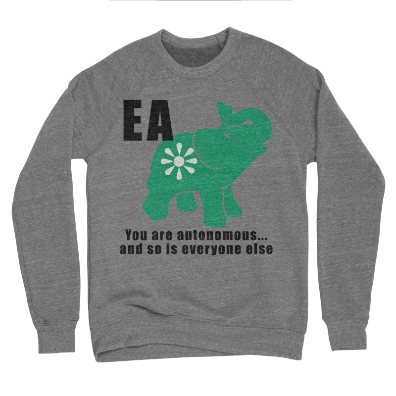 You Are Autonomous Men's Sponge Fleece Sweatshirt by everyonesautonomous's Artist Shop