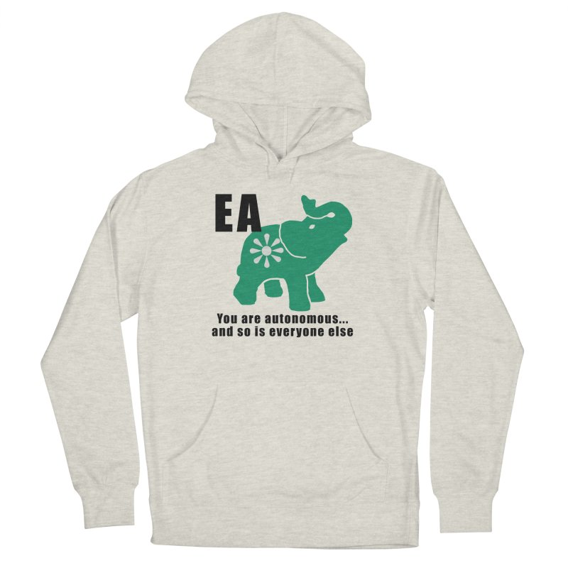 You Are Autonomous Men's French Terry Pullover Hoody by everyonesautonomous's Artist Shop