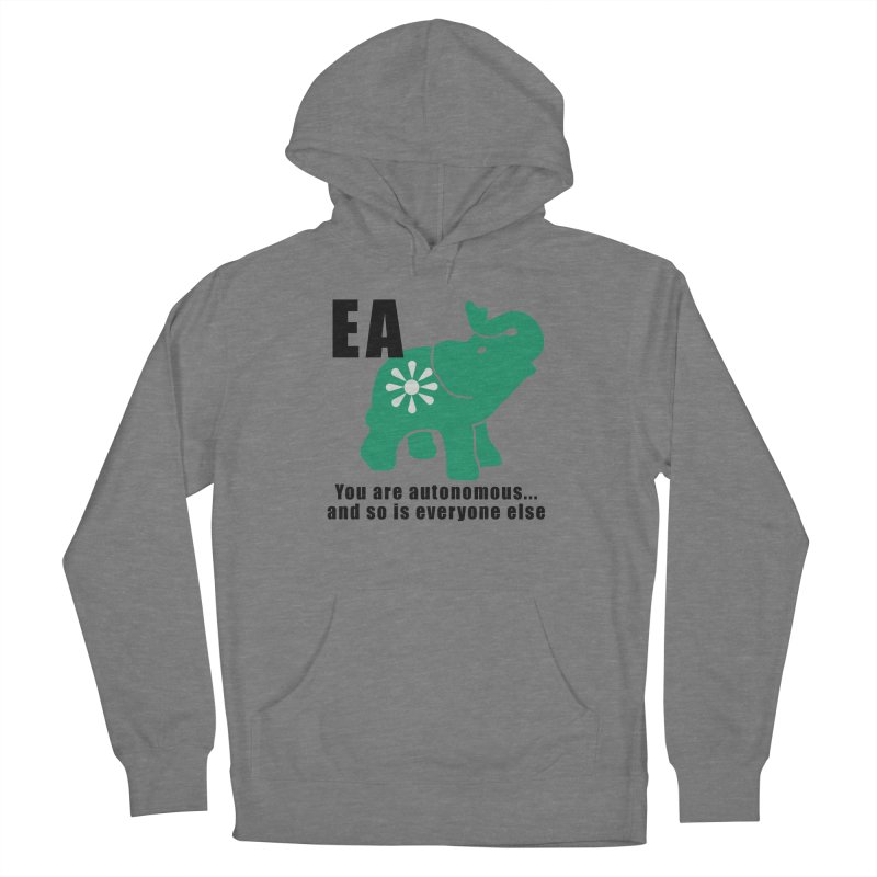 You Are Autonomous Women's French Terry Pullover Hoody by everyonesautonomous's Artist Shop
