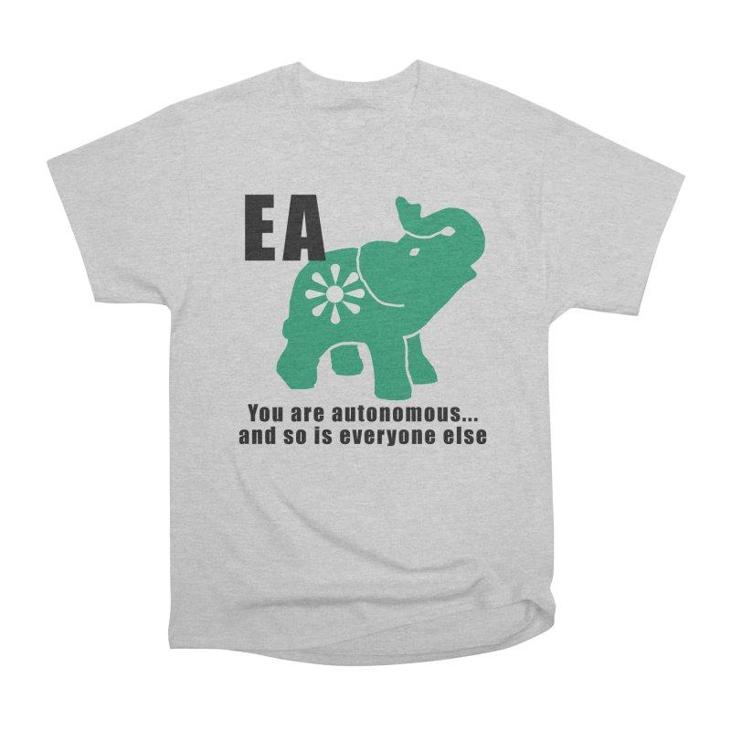 You Are Autonomous Men's Heavyweight T-Shirt by everyonesautonomous's Artist Shop