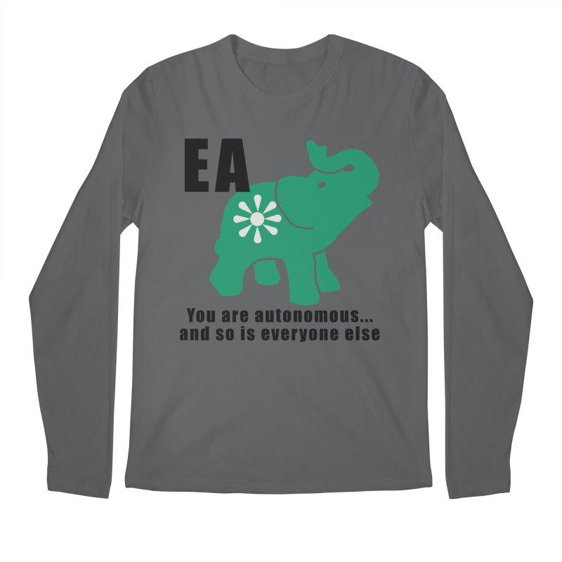 You Are Autonomous Men's Regular Longsleeve T-Shirt by everyonesautonomous's Artist Shop