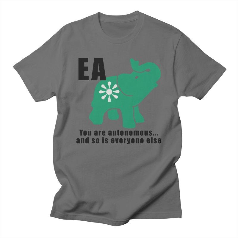 You Are Autonomous Men's T-Shirt by everyonesautonomous's Artist Shop