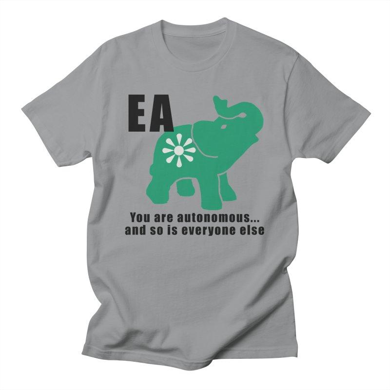 You Are Autonomous Women's Regular Unisex T-Shirt by everyonesautonomous's Artist Shop