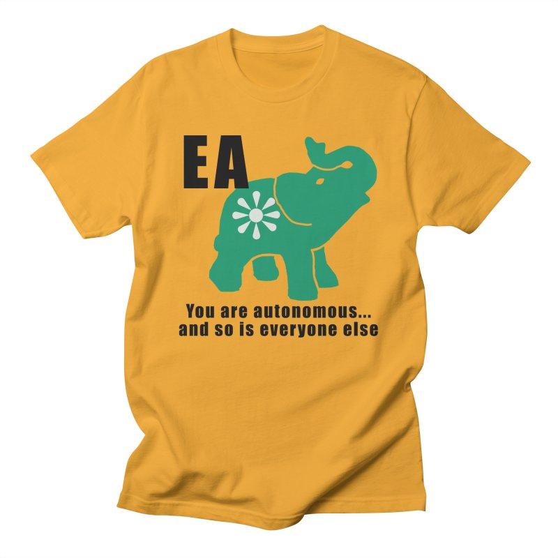 You Are Autonomous Men's Regular T-Shirt by everyonesautonomous's Artist Shop
