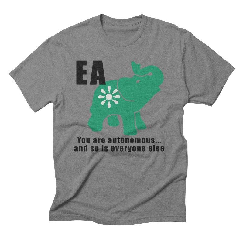 You Are Autonomous Men's Triblend T-Shirt by everyonesautonomous's Artist Shop