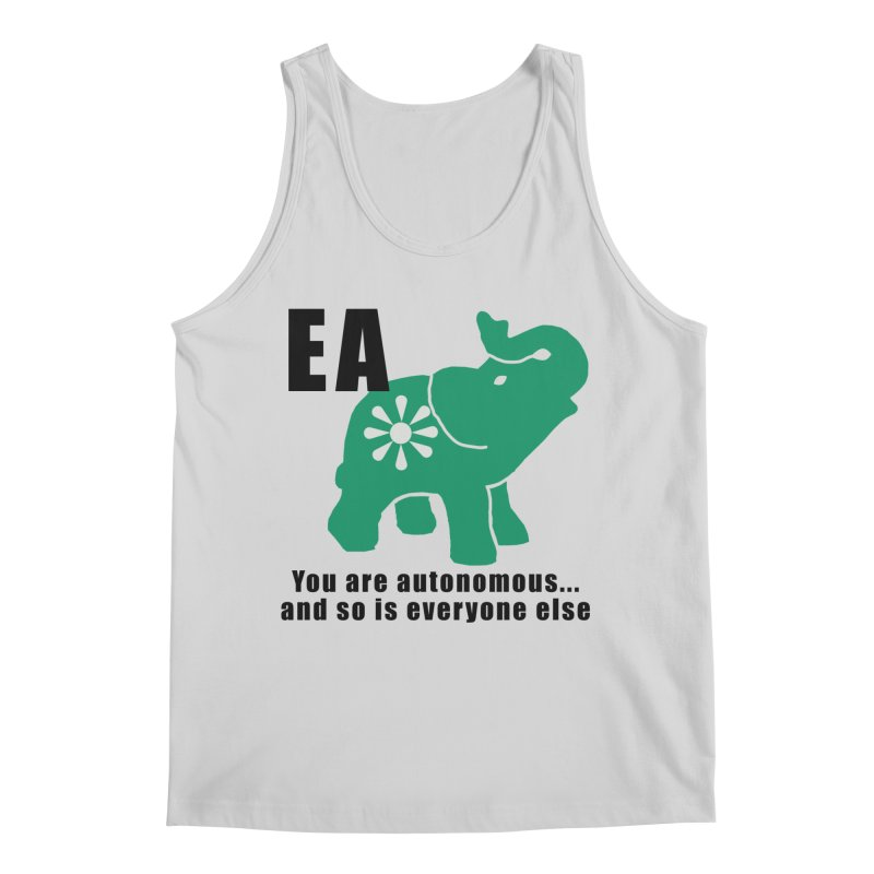 You Are Autonomous Men's Regular Tank by everyonesautonomous's Artist Shop