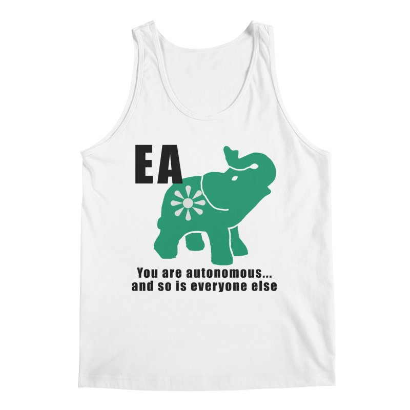 You Are Autonomous Men's Tank by everyonesautonomous's Artist Shop