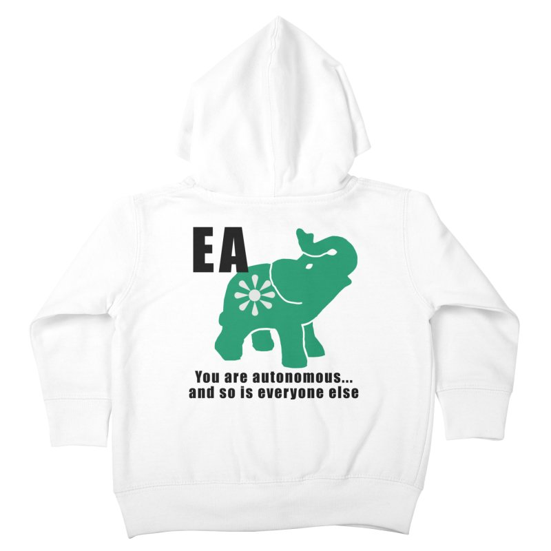 You Are Autonomous Kids Toddler Zip-Up Hoody by everyonesautonomous's Artist Shop
