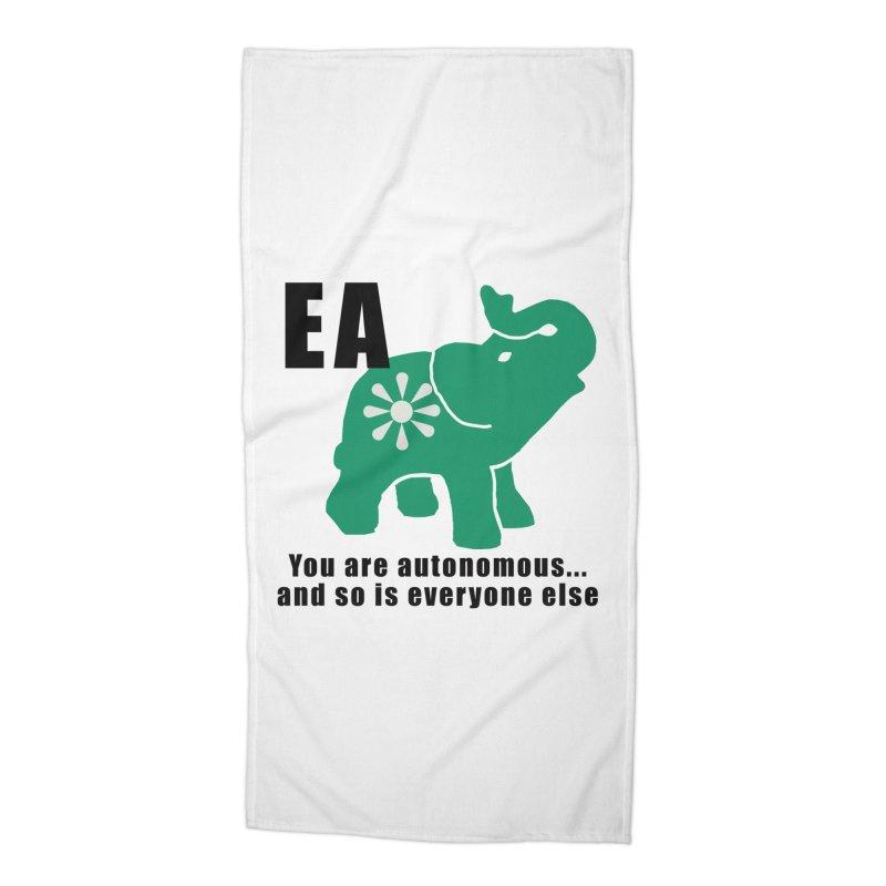 You Are Autonomous Accessories Beach Towel by Everyone's Autonomous' Artist Shop