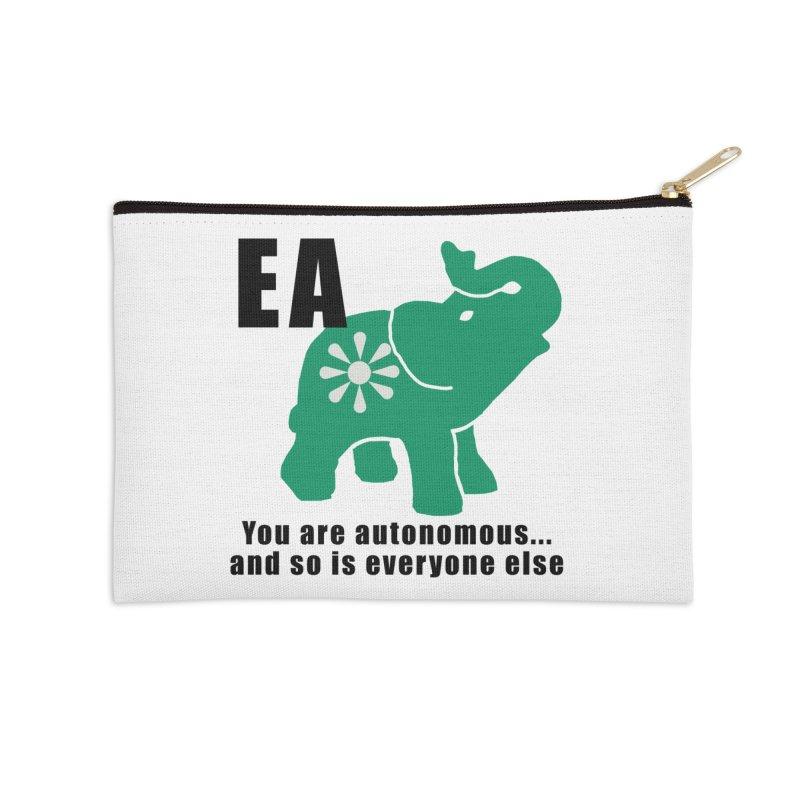 You Are Autonomous Accessories Zip Pouch by everyonesautonomous's Artist Shop
