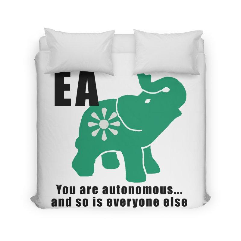 You Are Autonomous Home Duvet by everyonesautonomous's Artist Shop