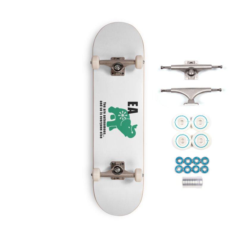 You Are Autonomous Accessories Skateboard by Everyone's Autonomous' Artist Shop