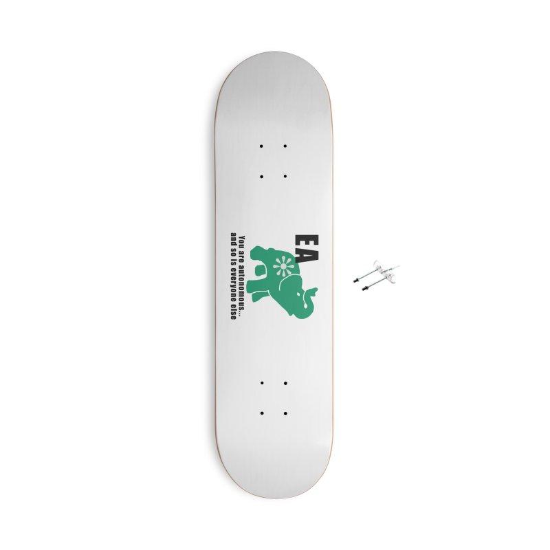 You Are Autonomous Accessories With Hanging Hardware Skateboard by everyonesautonomous's Artist Shop