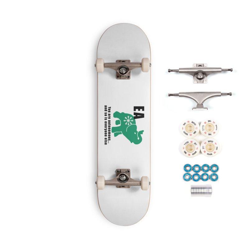 You Are Autonomous Accessories Complete - Premium Skateboard by everyonesautonomous's Artist Shop