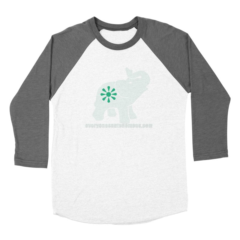 White Elephant with website Women's Longsleeve T-Shirt by Everyone's Autonomous' Artist Shop