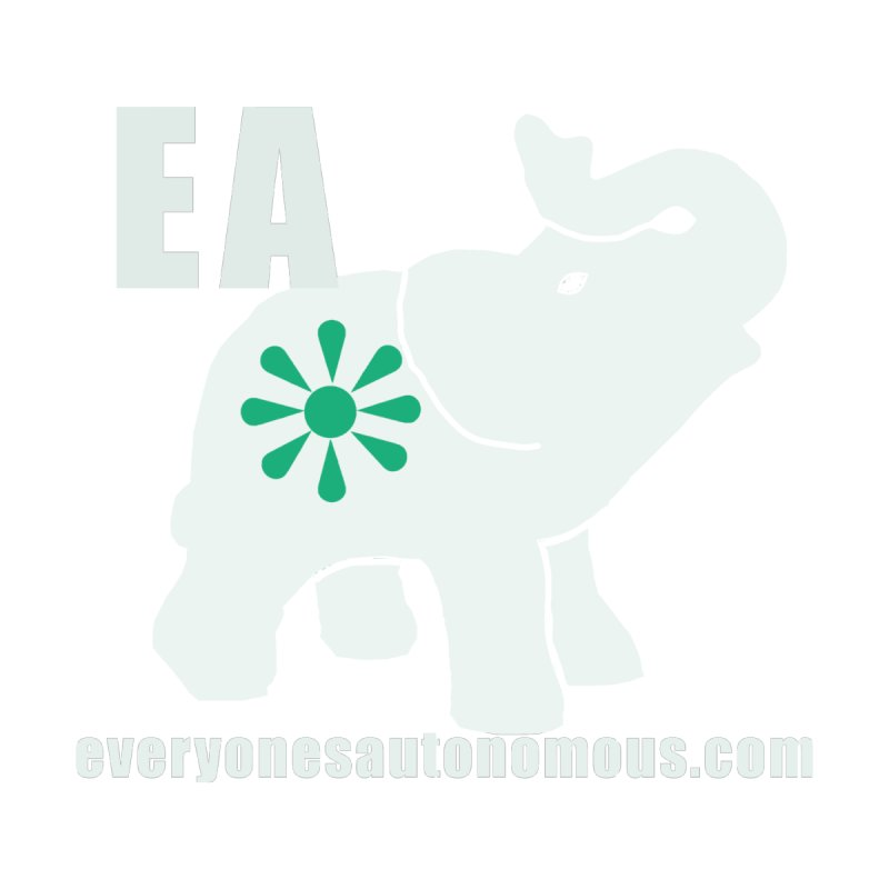 White Elephant with EA and WWW Women's Sweatshirt by Everyone's Autonomous' Artist Shop