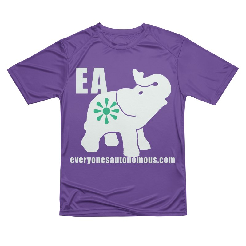 White Elephant with EA and WWW Men's Performance T-Shirt by everyonesautonomous's Artist Shop