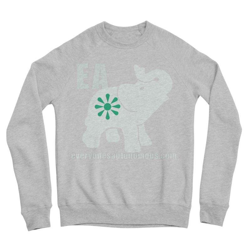 White Elephant with EA and WWW Men's Sponge Fleece Sweatshirt by everyonesautonomous's Artist Shop