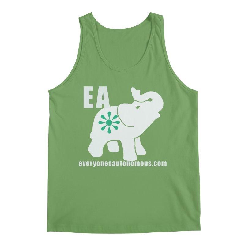 White Elephant with EA and WWW Men's Tank by Everyone's Autonomous' Artist Shop