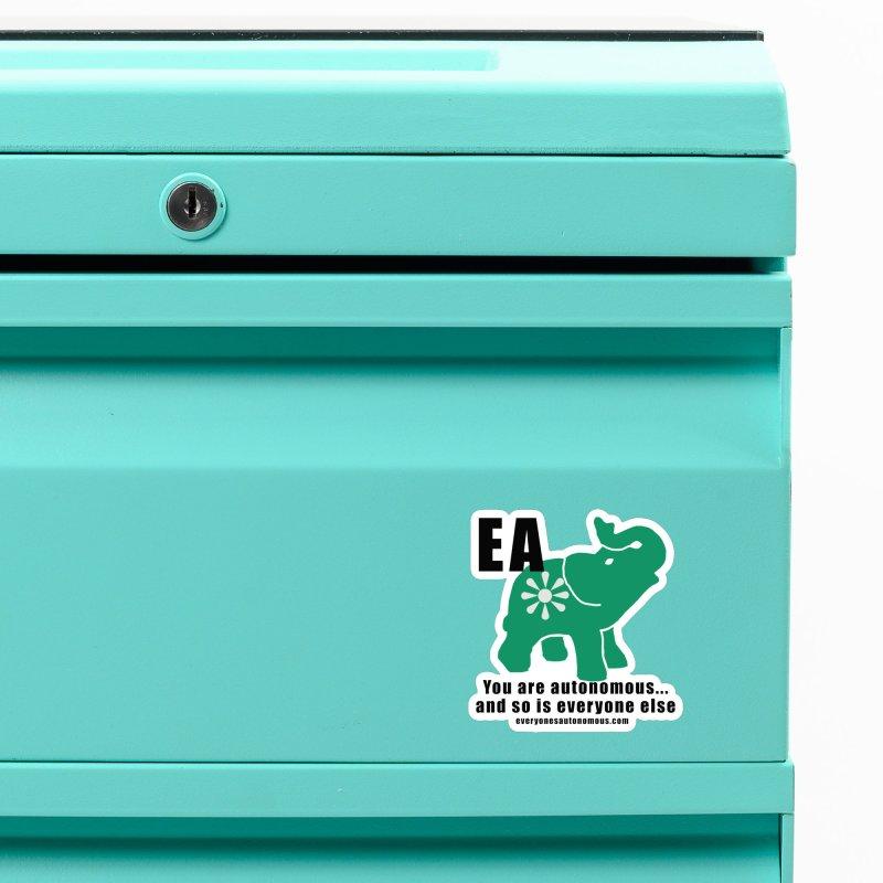 EA, Quote & WWW Accessories Magnet by Everyone's Autonomous' Artist Shop