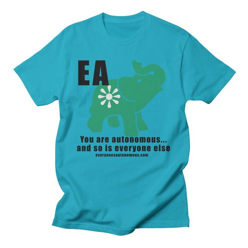 EA, Quote & WWW Men's T-Shirt by Everyone's Autonomous' Artist Shop