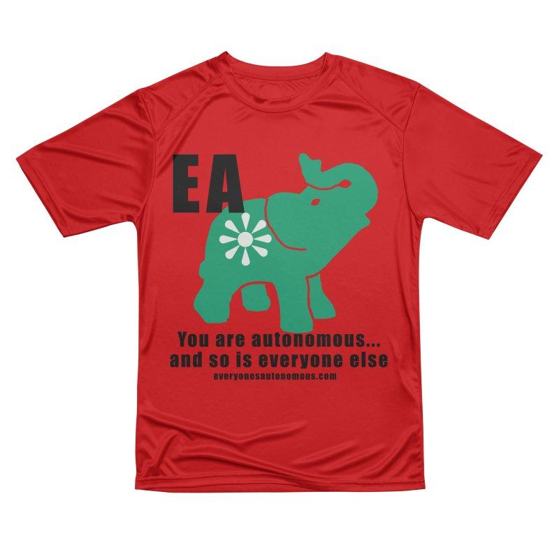 EA, Quote & WWW Women's Performance Unisex T-Shirt by everyonesautonomous's Artist Shop