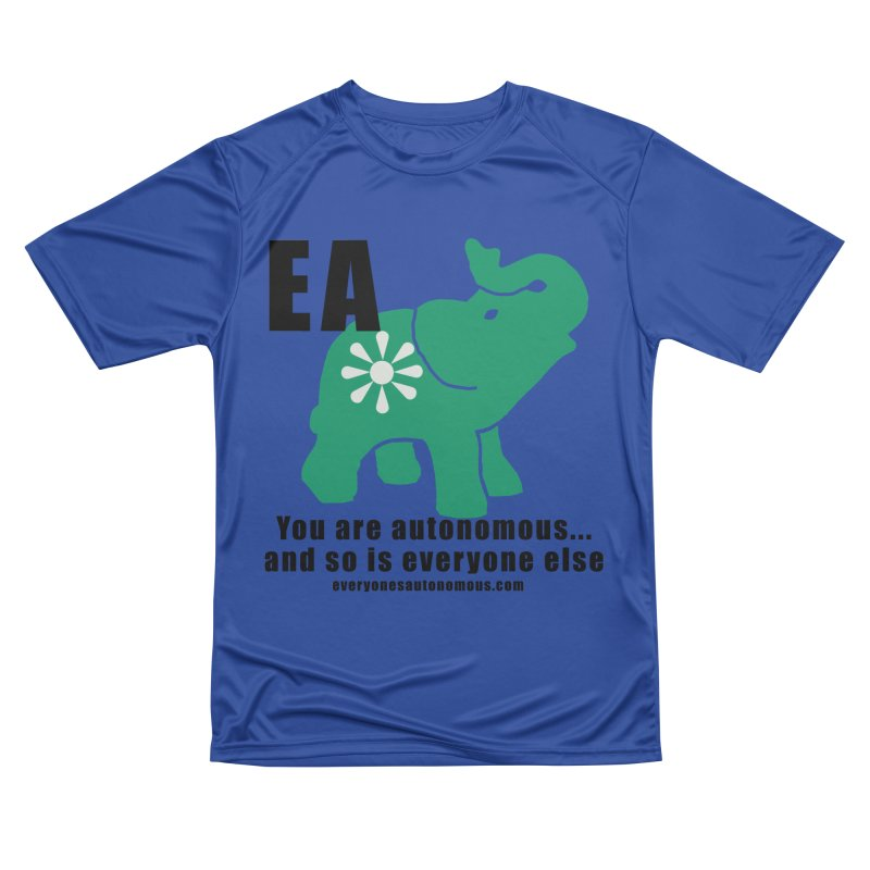 EA, Quote & WWW Men's Performance T-Shirt by everyonesautonomous's Artist Shop