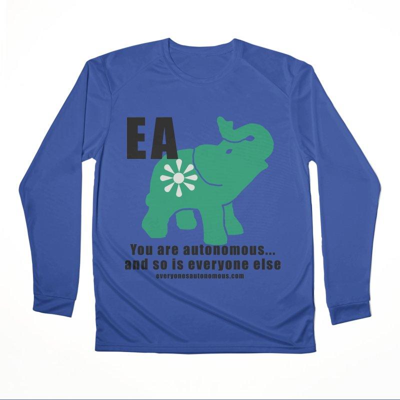 EA, Quote & WWW Women's Performance Unisex Longsleeve T-Shirt by everyonesautonomous's Artist Shop