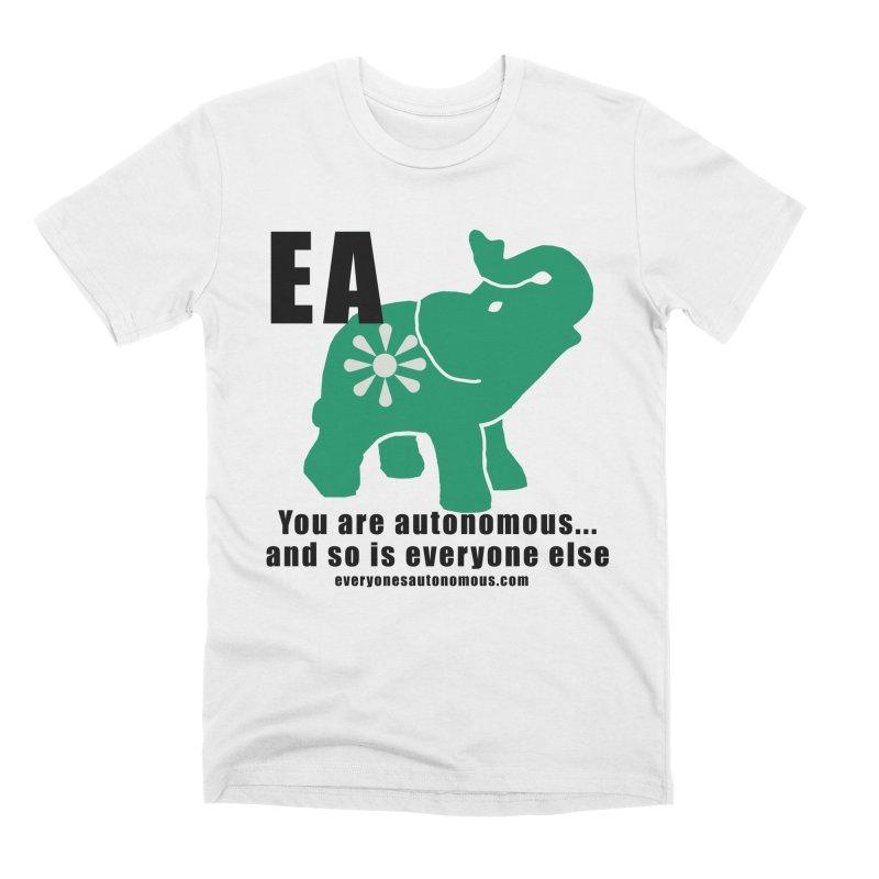 EA, Quote & WWW Men's Premium T-Shirt by everyonesautonomous's Artist Shop