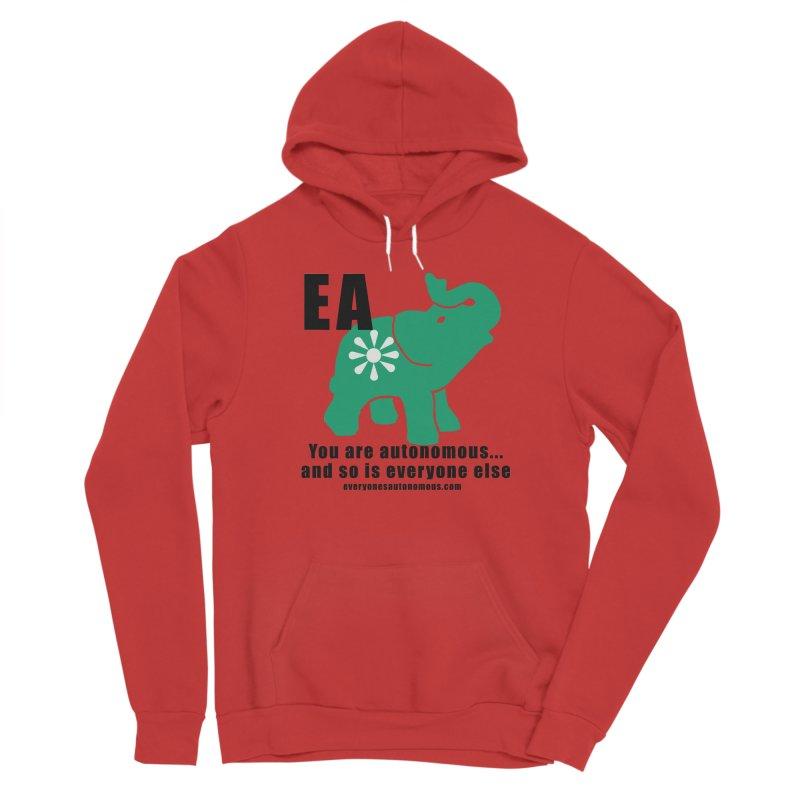 EA, Quote & WWW Men's Pullover Hoody by Everyone's Autonomous' Artist Shop