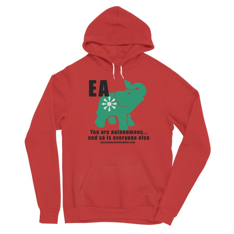 EA, Quote & WWW Women's Pullover Hoody by Everyone's Autonomous' Artist Shop