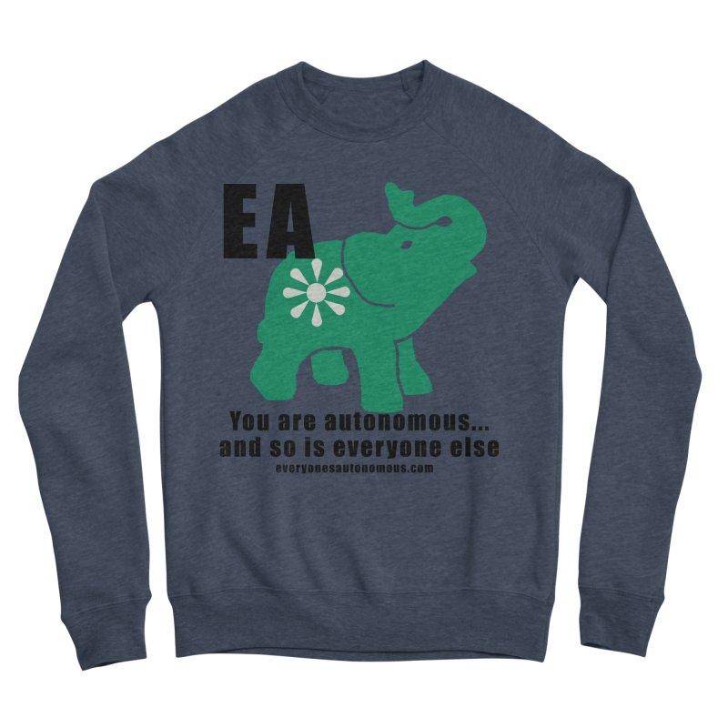 EA, Quote & WWW Men's Sponge Fleece Sweatshirt by everyonesautonomous's Artist Shop