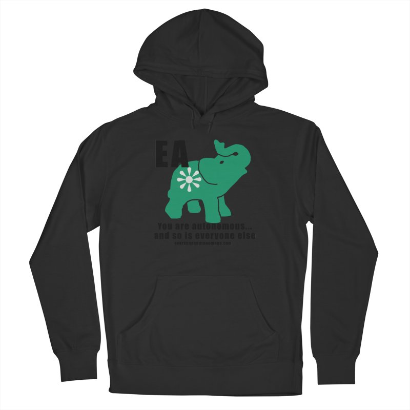 EA, Quote & WWW Women's French Terry Pullover Hoody by everyonesautonomous's Artist Shop